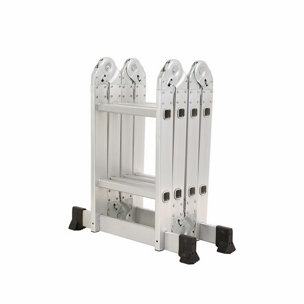4x2 Aluminum Multi Purpose Folding Ladder Small Hinge