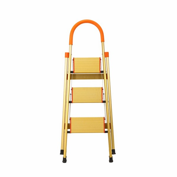 Jhm0303k 3 Step Aluminum Ladder Folding Platform Stool