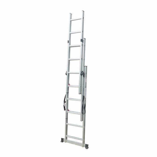 3 section extension ladder 3x6 rungs extension ladder. Black Bedroom Furniture Sets. Home Design Ideas