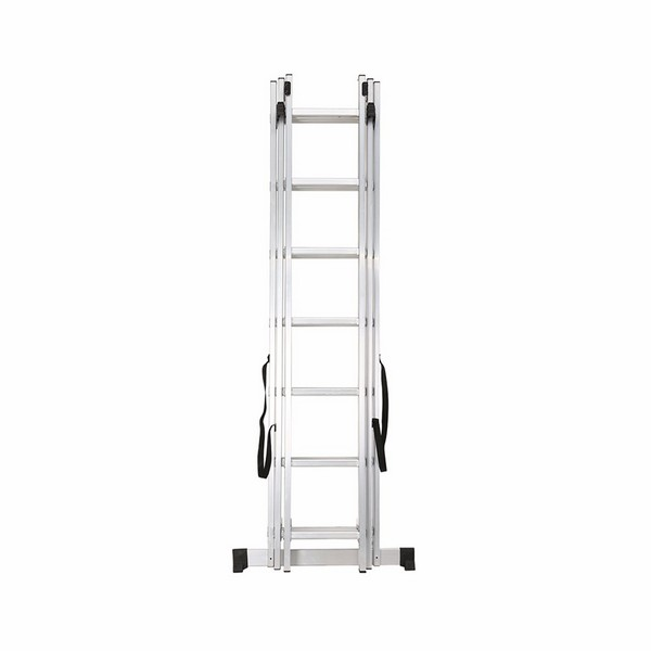 3 section extension ladder 3x7 rungs extension ladder. Black Bedroom Furniture Sets. Home Design Ideas