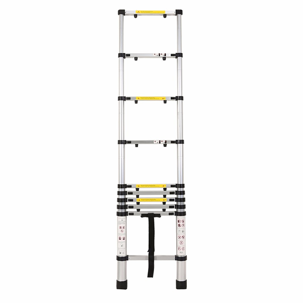 2.9m Aluminum Telescopic Ladder With Finger Gap