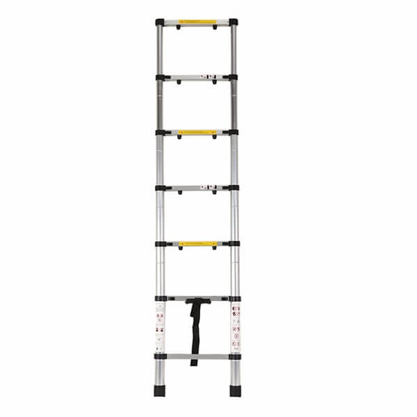 2.0m Aluminum Telescopic Ladder With Finger Gap