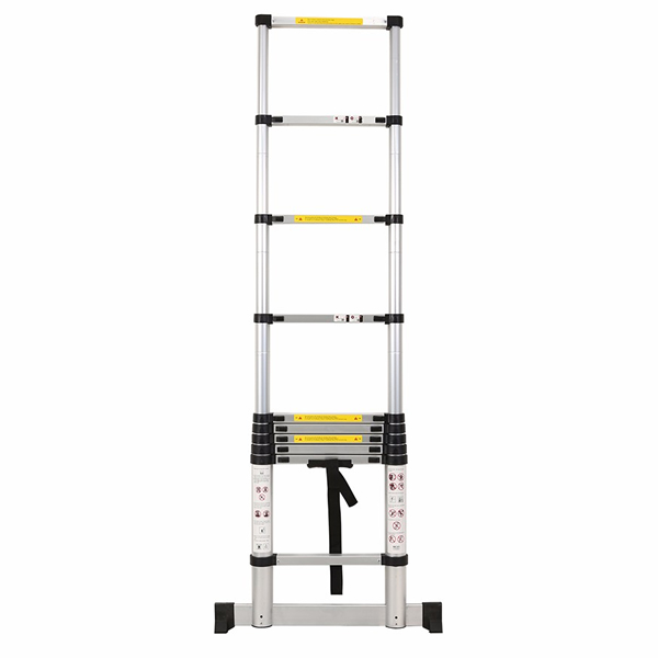 2.9m Aluminum Telescopic ladder With Stabilize Bar