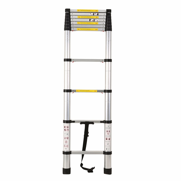 3.2m Aluminum Telescopic Ladder With Finger Gap
