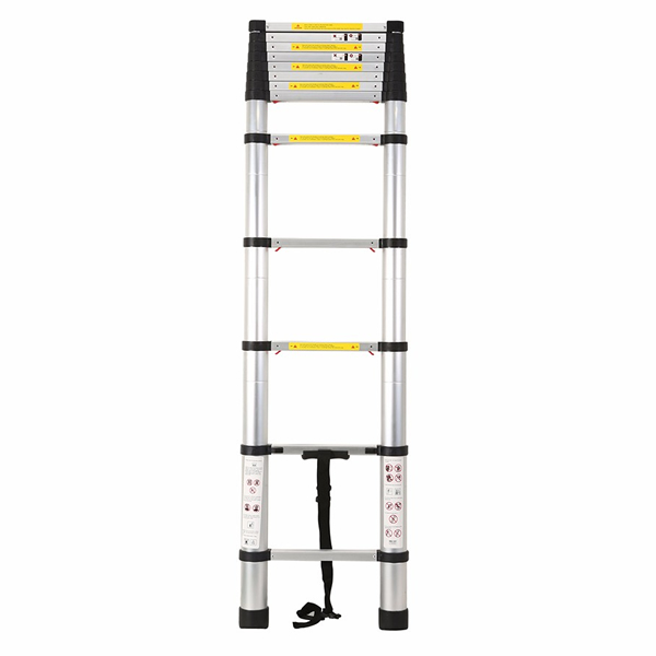 3.8m Aluminum One Time Closed Telescopic Ladder