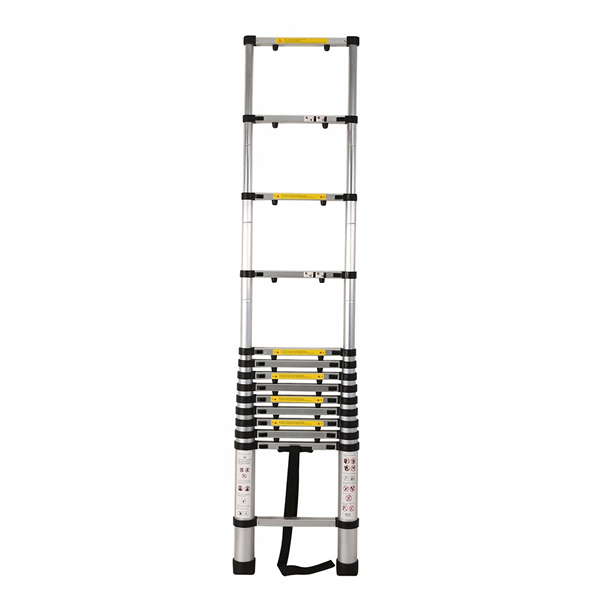 4.1m Aluminum Telescopic Ladder With Finger Gap