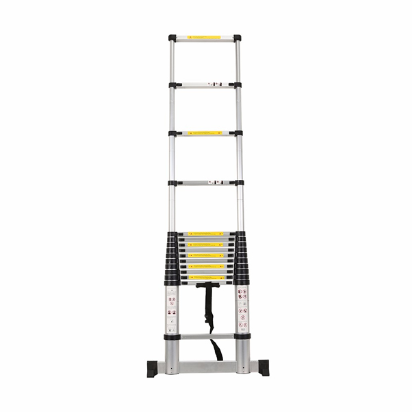 4.4m Aluminum Telescopic Ladder With Stabilize Bar