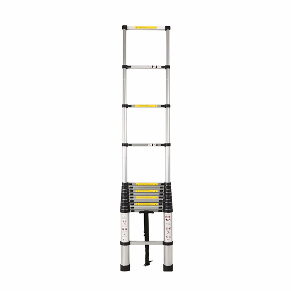 4.4m Aluminum Telescopic Ladder With Finger Gap