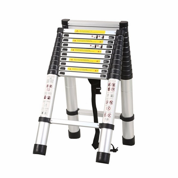 3.8m+3.2m Telescopic Combination ladder