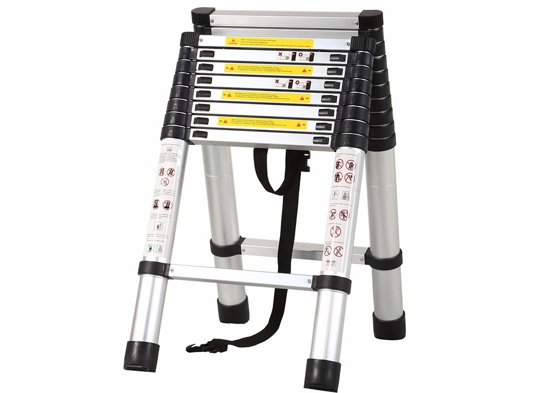 3.2m+2.6m Telescopic Combination Ladder