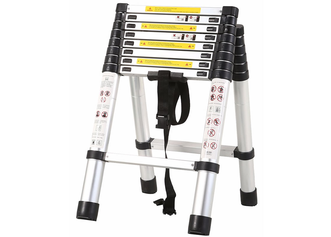 2.6m+2.0m Telescopic Combination Ladder