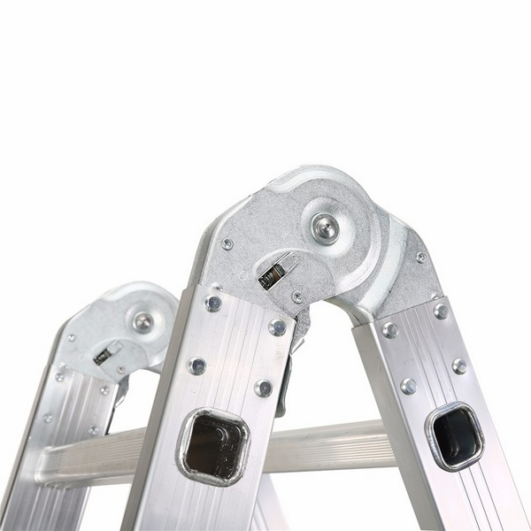 4X5 Aluminum multi purpose folding ladder (Small Hinge)
