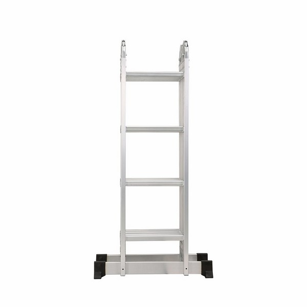 4X4 Aluminum multi purpose folding ladder (Small Hinge)