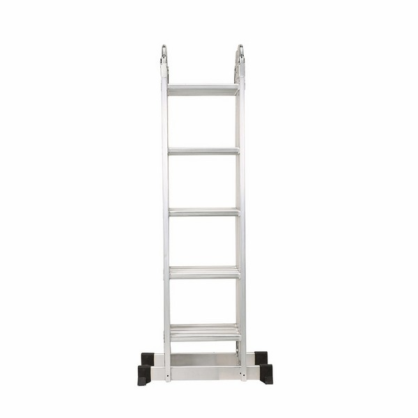 4X5 Aluminum multi purpose folding ladder (Big Hinge)