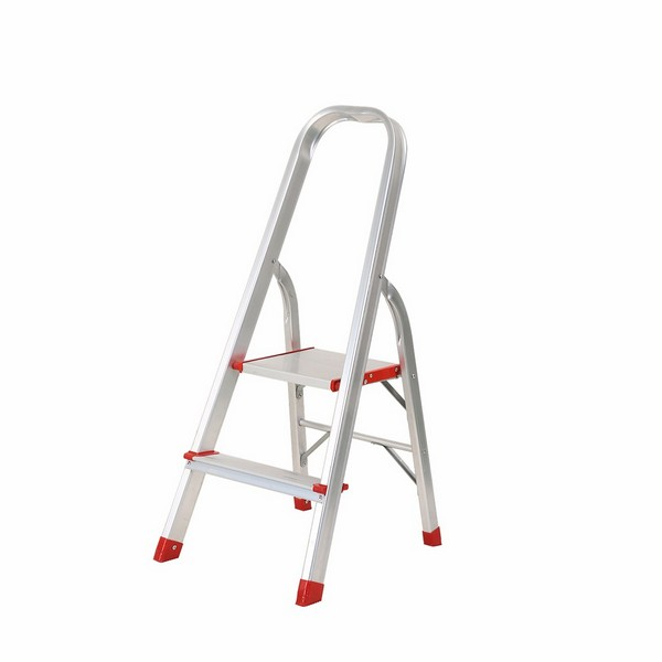 Aluminium Foldable Step Ladder 2 tread