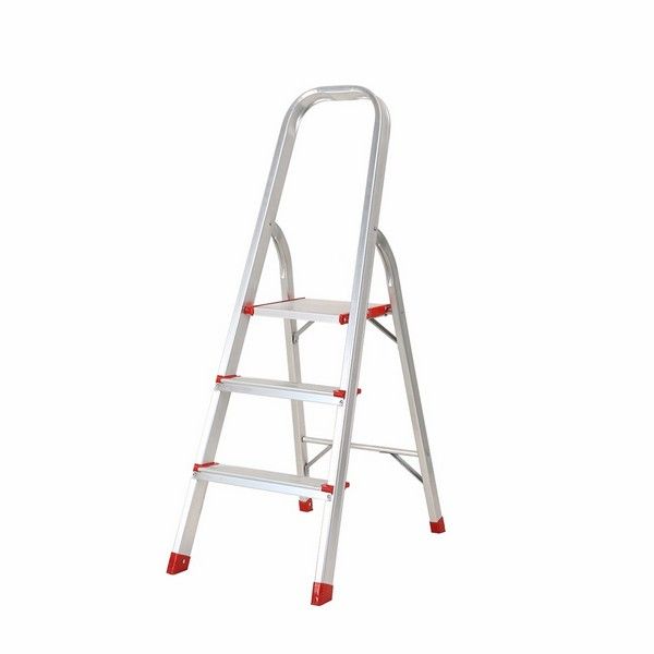 Aluminium Foldable Step Ladder 3 tread