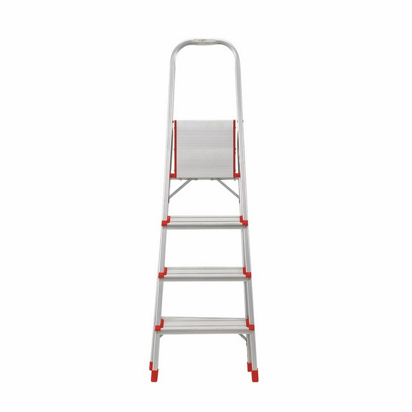 Aluminium Foldable Step Ladder 4 tread