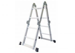 4*2 Aluminum multi purpose folding ladder (Big Hinge)