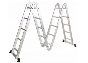 4*5 Aluminum multi purpose folding ladder (Small Hinge)