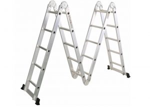 4*6 Aluminum multi purpose folding ladder (Big Hinge)