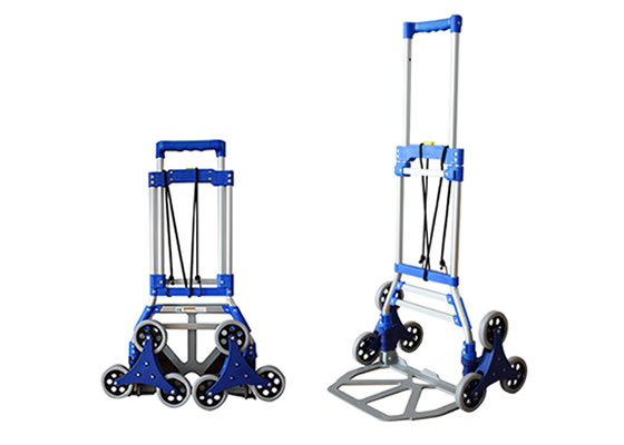 JHH-Ht8236 Six Wheeled Stair Climbing Folding Hand Trolleys