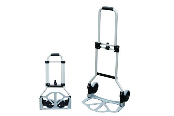 Portable Folding Hand Truck Luggage Carts,130 lbs Capacity