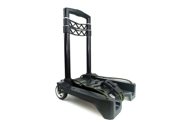 Lightweight Folding Hand Cart Dolly Fold Up Hand Truck Portable Utility Moving Shopping Cart