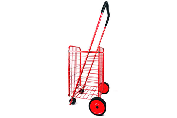 Folding Shopping Cart Basket, Model JH-HT202