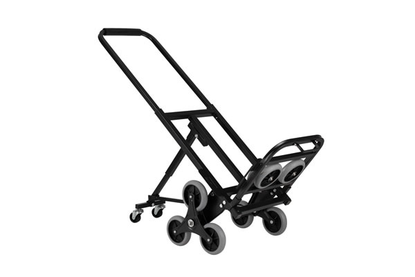 Stair Climbing Cart Portable Stair Climber Hand Truck Heavy Duty with 6 Wheels